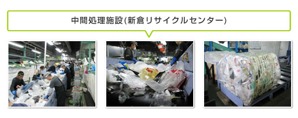 中間処理施設(新倉リサイクルセンター)