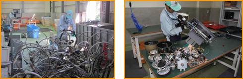 粗大ごみからの金属類の資源化イメージ
